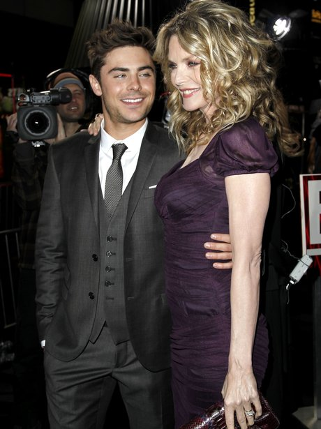 Zac Efron and Michelle Pfeiffer arrive for the New