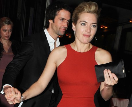 Kate Winslet and Ned Abel Smith in Paris