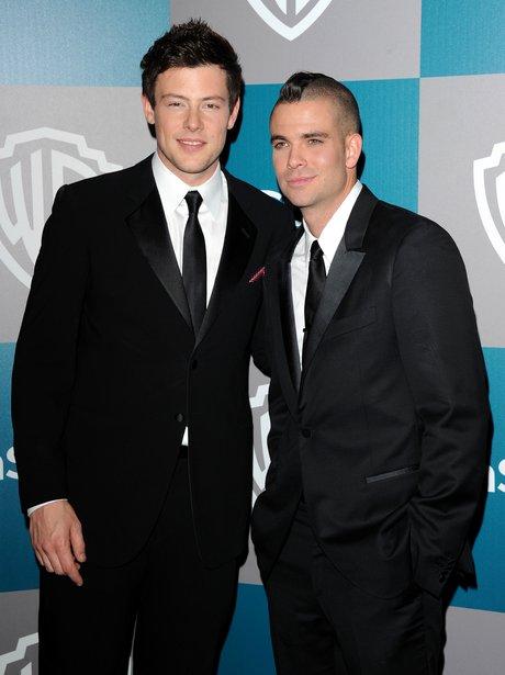 Cory Monteith and Mark Salling