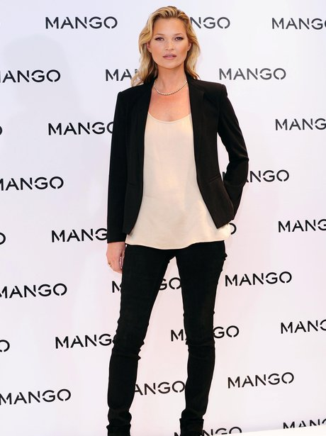 Kate Moss is the new face for Mango