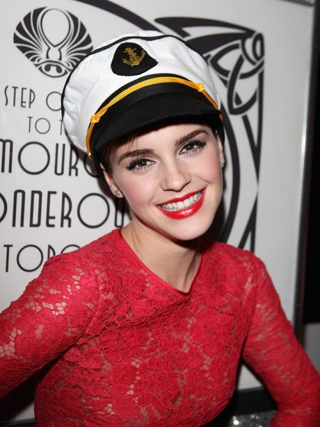 Emma Watson attends Lancome Party