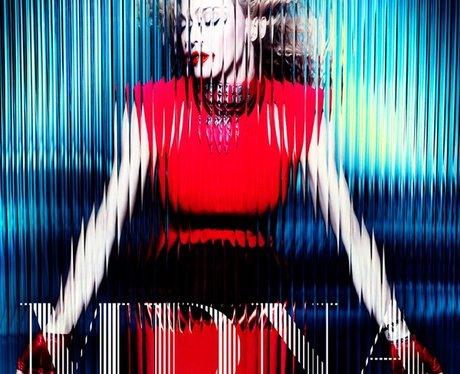 Madonna's 'MDNA' album cover.