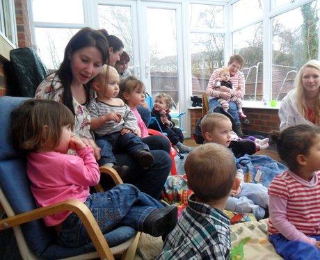 Matt visiting Sam the Childminder