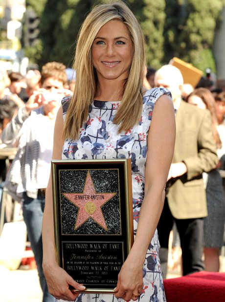 Jennifer Aniston Hollwood Walk of Fame