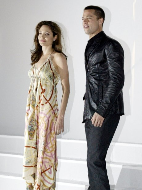 brad and angelina at mr and mrs smith