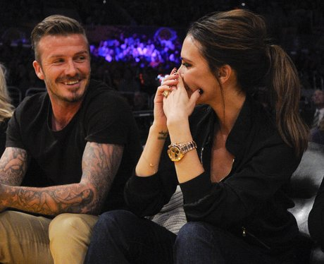 David Baeckham and Victoria Beckham