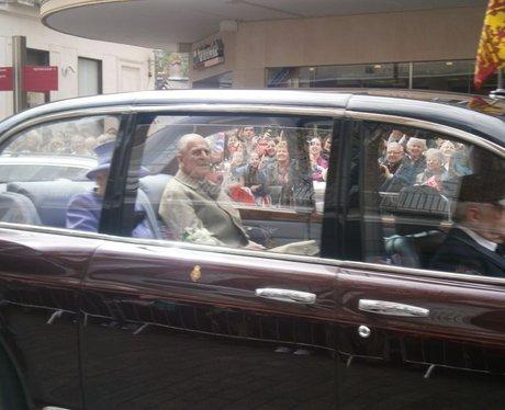 HRH Queen visits Exeter