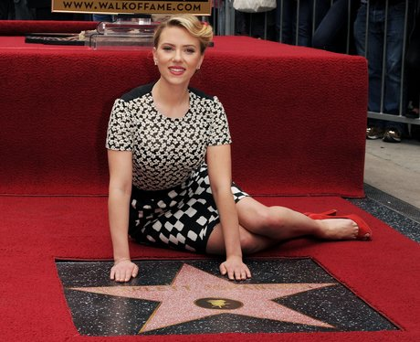 Scarlett Johnson at the Hollywood Walk of Fame