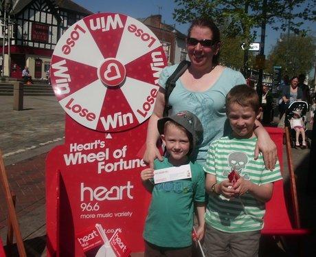 Heart's Winning Wheel at Wenzels