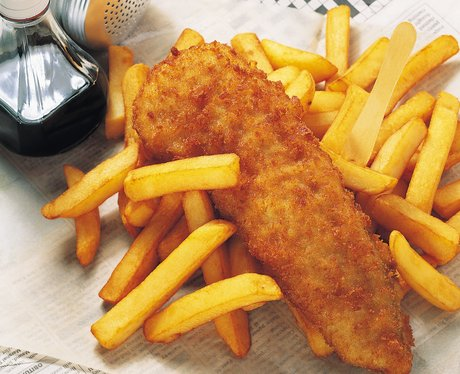 Best of british food heart for Best fish and chips recipe