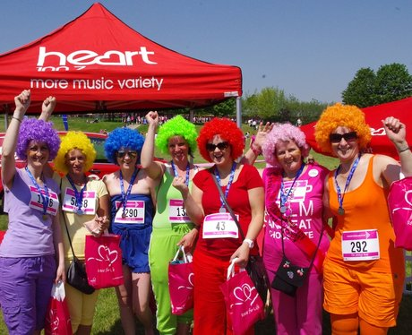 Race For Life Telford Best Dressed