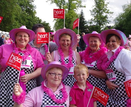 Best Dressed race for life Wolverhampton