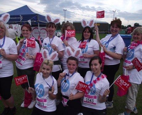 The Finish Line at Basingstoke Race for Life