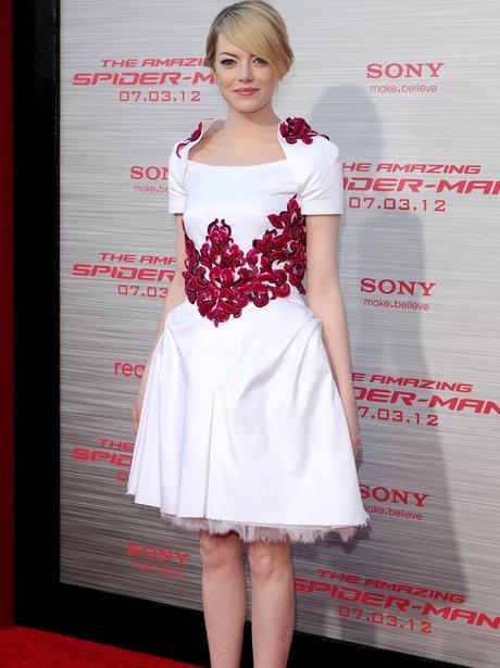 Emma Stone attends film premiere