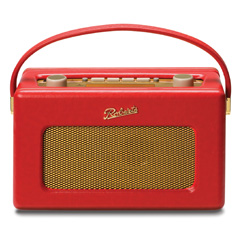 Roberts Revival Radio red