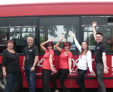 West Herts College Careers Bus