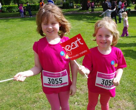 Everyone from Malvern park Race for Life
