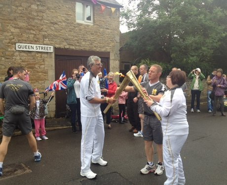 Geddington Olympic Torch