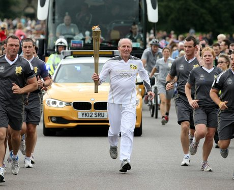 Olympic Torch Blenheim Palace