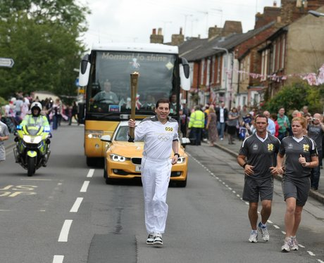 Olympic Torch Relay Buckingham and Whitchurch.