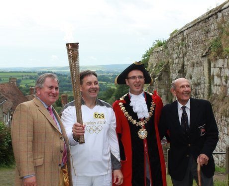Olympic Torch Relay in Shaftesbury