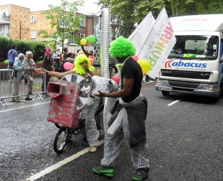 Procession at Luton Carnival