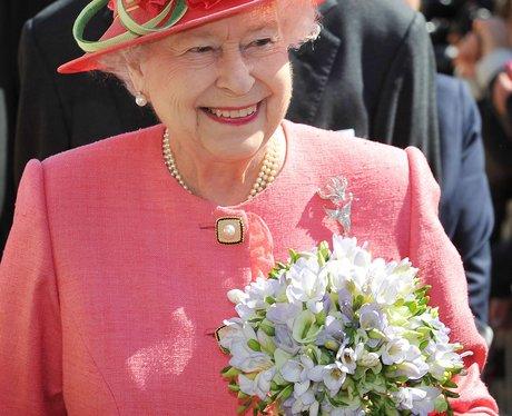The Queen visit to Birmingham