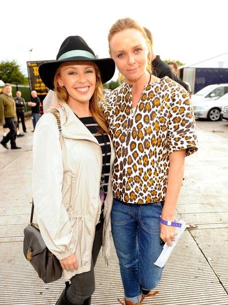 Kylie Minogue and Stella McCartney