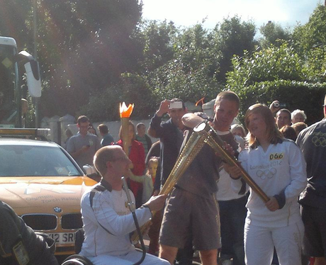 Olympic Torch Relay - 15th July