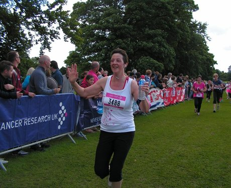 St Albans Race For Life - The Finish Line