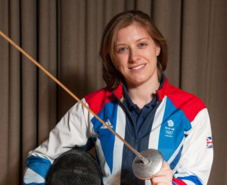 Anna Bentley from Norwich - Fencing