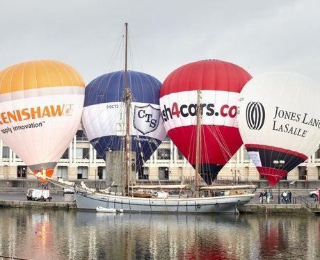 Bristol International Balloon Fiesta Tether Roadsh