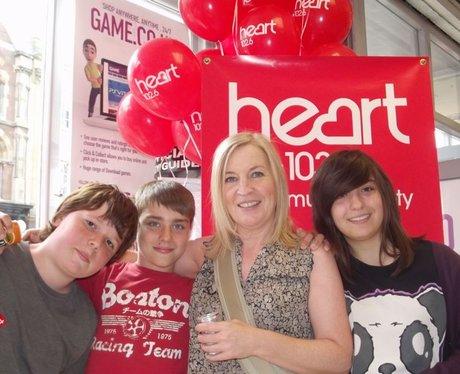 Heart at Game Taunton