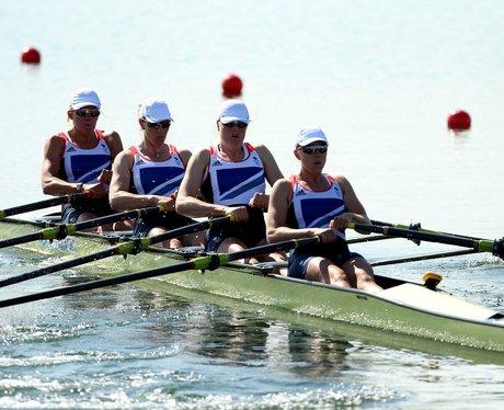 Team GB row away