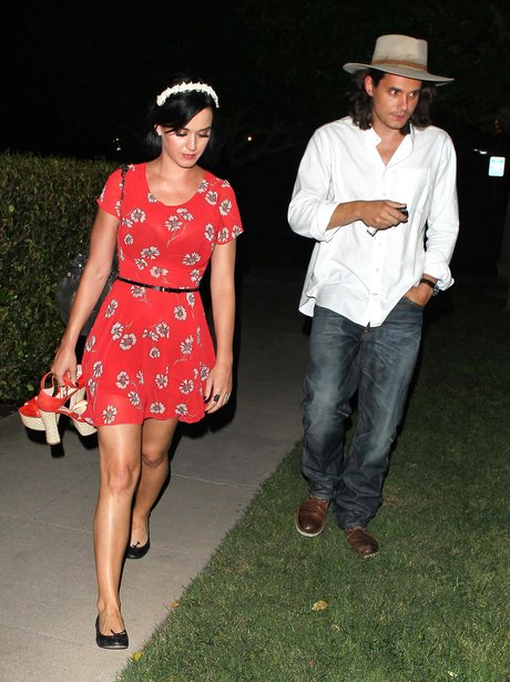 Katy Perry and John Mayer together