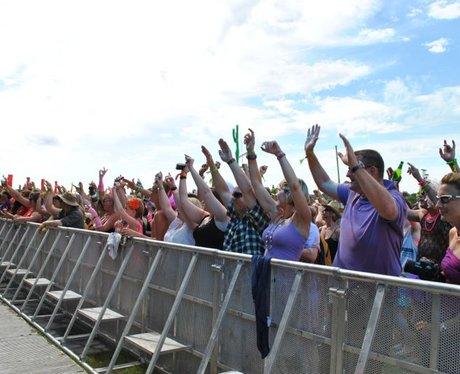 People Enjoying Rewind Festival 2012 - Saturday