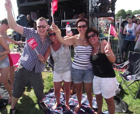 The Party People at Rewind Festival 2012