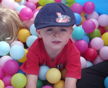 Heart at Cheddar Family Fun Day