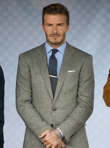 1 David Beckham Sexiest Celebrity In A Suit Heart