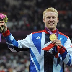 Jonnie Peacock at the Paralympic Games 2012