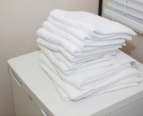 Olly Murs' towels