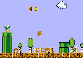 Super mario back in the day