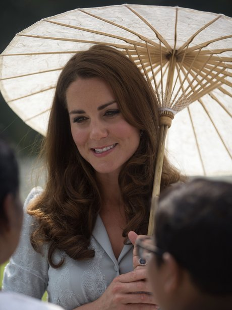 Kate Middleton and Prince William in the far east
