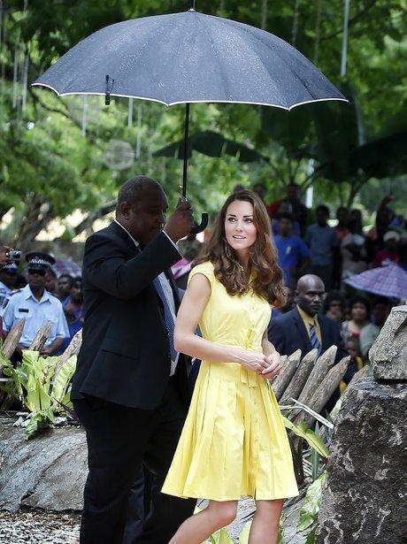 Kate Middleton's yellow dress