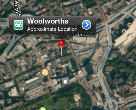Apple Woolworths in Bristol