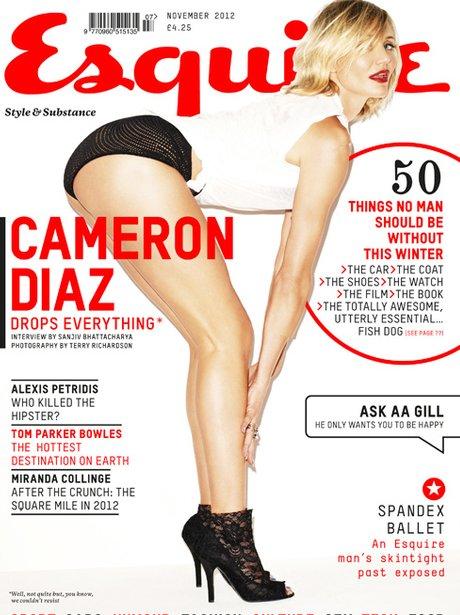Cameron Diaz in Esquire magazine