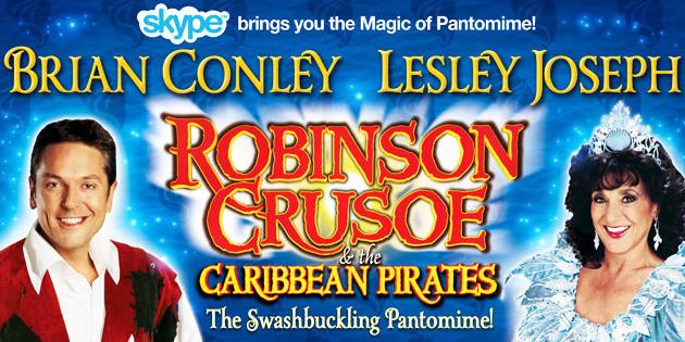 Robinson Crusoe- Birmingham Hippodrome