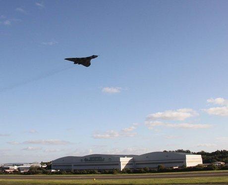 Vulcan flies over Bristol. PICS:Graham and Ruth Bl