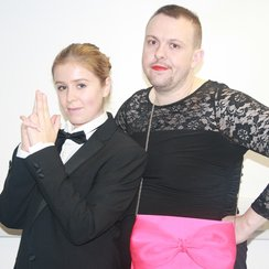 Heart Breakfast's James Bond and Bond Girl