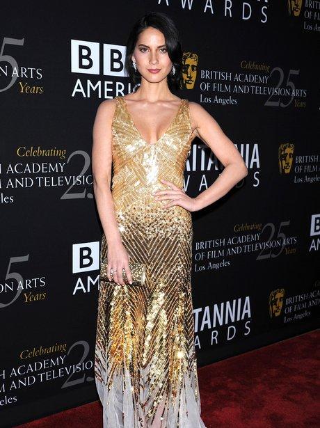 Olivia Munn BAFTA 2012 Britannia Awards